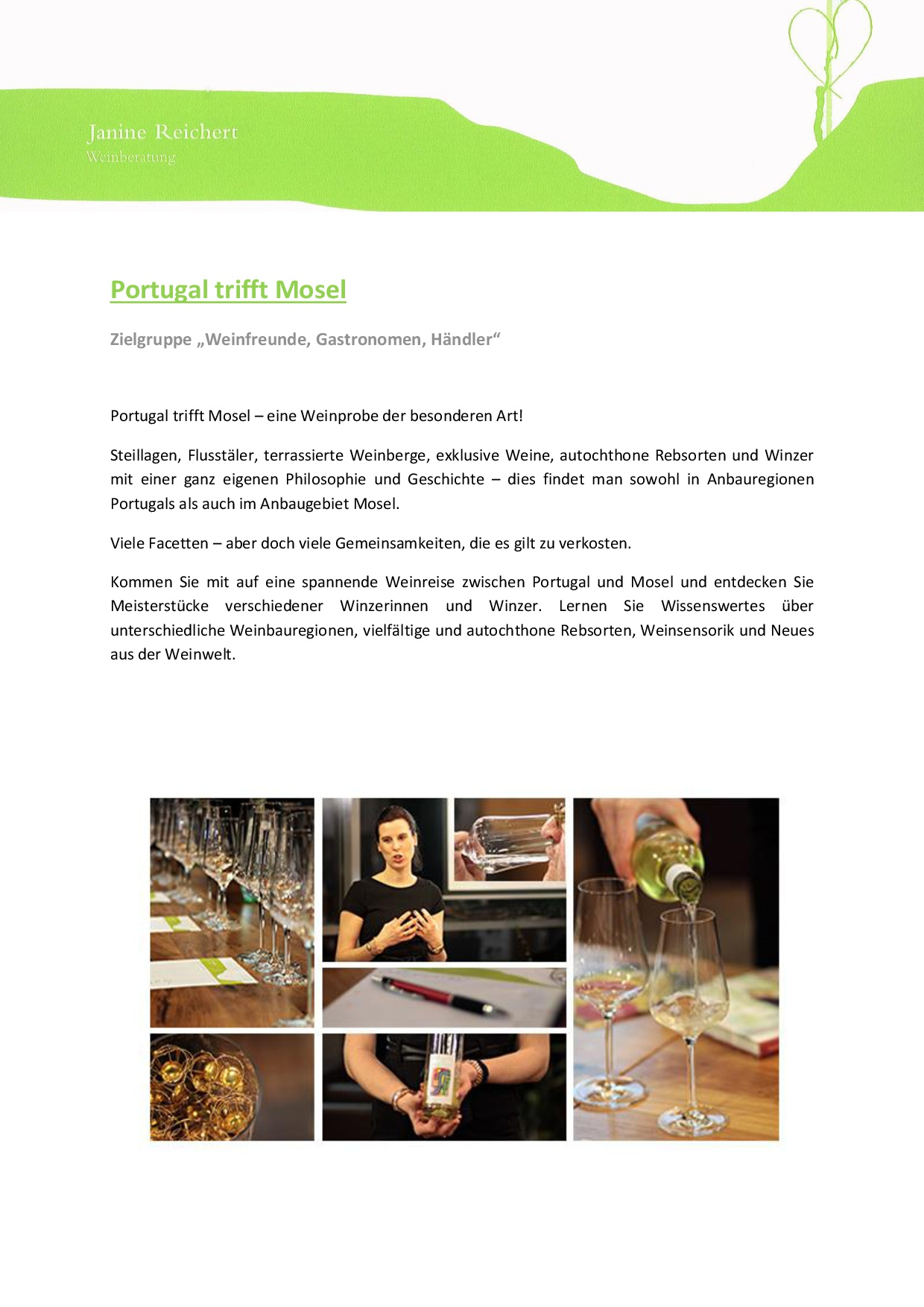 Portugal trifft Mosel